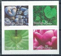 Suède 2013 N°2894/2897 Neufs Fleurs En Forme De Coeur - Svezia