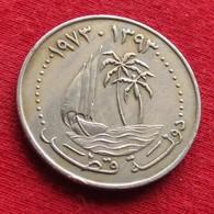 Qatar 50 Dirhams 1973 / 1393 KM# 5 Catar Katar - Qatar