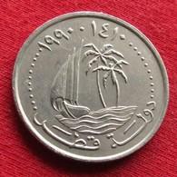 Qatar 50 Dirhams 1990 / 1410 KM# 5 Catar Katar - Qatar