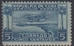 Cuba, Scott #C1, Used, Seaplane Over Havana Harbor, Issued 1927 - Airmail