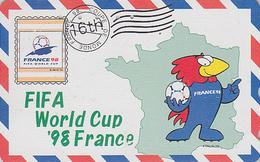 TC OFFICIELLE JAPON / 110-011 - SPORT  FOOTBALL FRANCE WORLD CUP 98 - SOCCER JAPAN Pc * Master Card 1203 - Sport