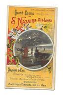 Saint Nazaire Sur Loire - Programme,concerts,théâtre:Rip-rip -Pub;Robur Quinquina; Delevaque - Documentos Históricos