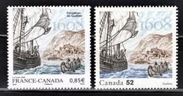 FRANCE 2008 -  Y.T. N° 4182 + CANADA - NEUFS** - Frankreich