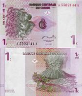 Congo DR 1997 - 1 Centime - Pick 80 UNC - Congo