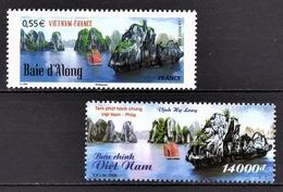 FRANCE 2008 - EMISSION COMMUNE FRANCE / VIETNAM /  Y.T. N° 4284 + TP DU VIETNAM - NEUFS** - Frankreich
