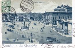 Suisse - Souvenir De GENEVE  - 1900 - GE Geneva