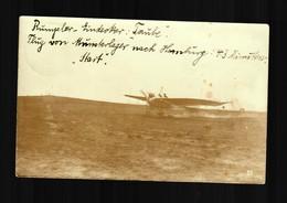 Foto AK 1912 Flug Von Munsterlager Nach Hamburg, 43min, Nach Binteln - Alemania