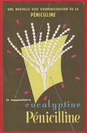 Publicité Médicament  ; Pharmacie ; Médecine ; Suppositoires EUCALYPTINE  ( Eucalyptus)  Labo Le Brun - Advertising