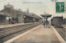 ALBERT La Gare, Vue Intérieure - Albert