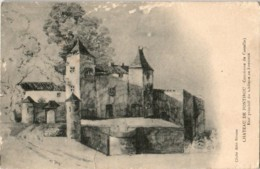 31kst 522 CPA - CHATEAU DE FONTIROU - COMMUNE DE CASTELLA - France