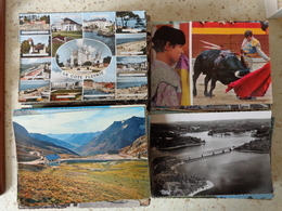 DESTOCKAGE LOT DE 2566 GRAMMES De Cartes Semi Modernes - 500 Postcards Min.