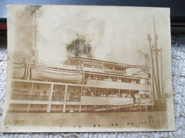 Anversville Bateau Boot 1900 9 Op 12 Cm - Boats