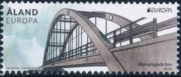 Aland 2018.  Europa - CEPT. Bridges MNH - Ålandinseln