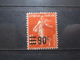 VEND BEAU TIMBRE DE FRANCE N° 227 , XX !!! (h) - 1906-38 Semeuse Camée