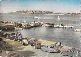 Dinard, L'Embarcadère, Au Loin St-Malo - 2 CV, Traction Citroën, Frégate, Juva 4 - Carte CAP Colorisée N° 202 - Dinard