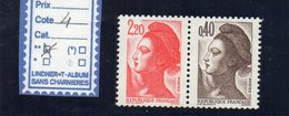 LIBERTE DE GANDON -N° 2376b - 1982-90 Liberty Of Gandon