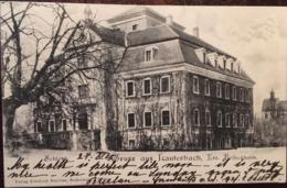 CPA, GRUSS AUS LAUTERBACH, Kreis Bolkenhain, Schloss, écrite En 1905, éd Schröter, ALLEMAGNE - Autres