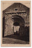 LEIRIA  PORTA DA CAPELA DE S PEDRO  SECULO XII  VOIR CACHET AU DOS  HOTEL LIZ - Leiria
