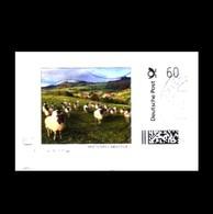 Bund / Germany: Marke Individuell 'Rhönschaf [Schaf]' / Personal Stamp 'Rhön Sheep, Ovis Aries' Oo - Hoftiere