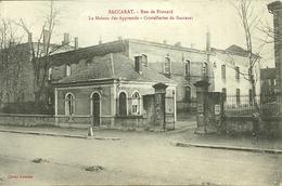 54  BACCARAT - RUE DE FROUARD - LA MAISON DES APPRENTIS - CRISTALLERIE DE BACCARAT (ref 8538) - Baccarat