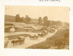 55-petite Photo 12x9 Cm.de L'Ambulance 3/64 à Ville-sur-Cousances En 14/18-(pas De Date Précise Indiquée) - Guerre, Militaire