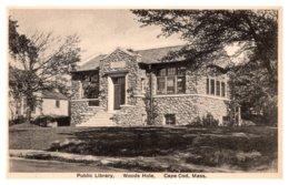 Massachusetts Woods Hole ,Public Library - Other