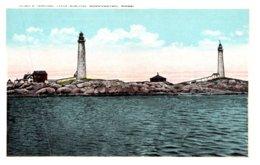 Massachusetts Gloucester ,Thatcher's Island , Twin Lights - Other