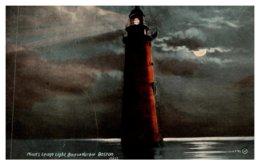 Massachusetts Boston Minot's Ledge Light  At Night - Other