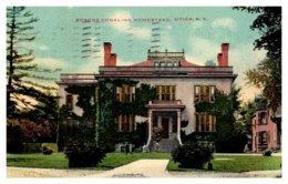 New York  Utica , Roscoe Conkling Homestead - NY - New York