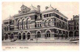 New York  Utica ,  Post Office - NY - New York