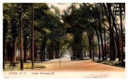 New York  Utica ,  Upper Genesee Street - NY - New York