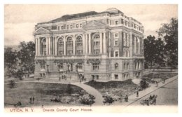 New York  Utica , Oneida County Court House - NY - New York