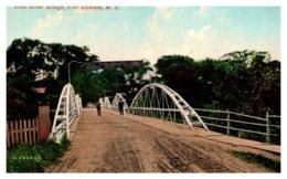 New York   Fort Edward , First River Bridge - NY - New York
