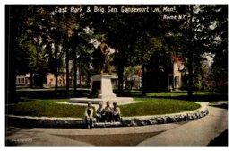 New York   Rome , East Park & Brig. Gen. Gansevoot Jr. Monument - NY - New York