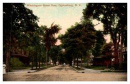 New York   Ogdensburg Washington Street East - NY - New York