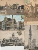N 213  Lot 100 CPA Différentes De Belgique - Postcards