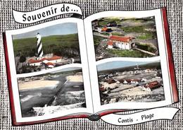 Souvenir De ... CONTIS-PLAGE - Phare - Chapelle - Vues Générales - Livre Ouvert - France