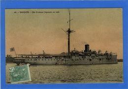 VIET NAM - SAIGON Un Croiseur Japonais En Rade - Viêt-Nam