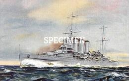 HMS Cumberland Cruiser - Guerre