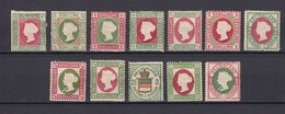 Helgoland - 1867/90 - Neudrucke Sammlung - Ungebr. - Helgoland