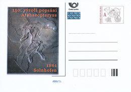 Tchéquie / Cartes Post. (Pre2011/43) Décrit Par Archaeopteryx; 150ème Anniversaire; Solnhofen (1861) - Préhistoire