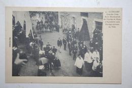22 : Guingamp - Grande Fêtes De La Béatification De Charles De Blois   Septembre 1910 - Cortège Arrivant En Ville - Guingamp