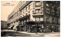 92 BECON LES BRUYERES - L'avenue De La Liberté. - Autres Communes