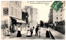 92 BECON LES BRUYERES - La Rue De Bois Colombes. - Autres Communes