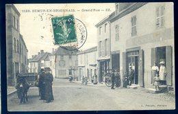 Cpa Du 71 Semur En Brionnais Grand'rue DEC19-47 - Otros Municipios