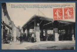 RIEUX VOLVESTRE - La Place D' Auriac Et La Vieille Halle... - Autres Communes