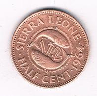 1/2 CENT 1964 SIERRA LEONE/1311/ - Sierra Leone
