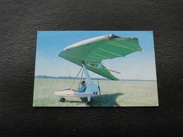 USSR Soviet Russia Pocket Calendar Sports Hang Glider August 1991 - Calendars