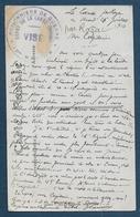 Dordogne - Prisonniers De Guerre - Dépot De LA LANDE - Marcophilie (Lettres)