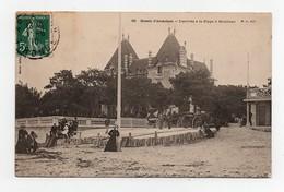 CPA Bassin D'Arcachon L'arrivée à La Plage à Moulleau  1910 - Arcachon